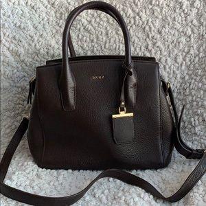 DKNY brown handbag